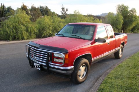 Well taken care of… 1997 GMC Sierra K1500 Extra cab for sale