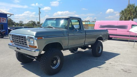 1979 Ford F-350 Custom 4×4 full restoration for sale