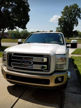 loaded 2011 Ford F 350 King Ranch pickup for sale