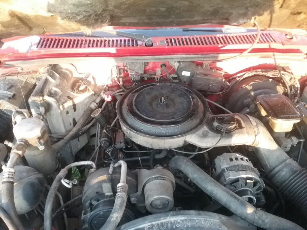 good running work truck 1990 Chevrolet S-10 4×4
