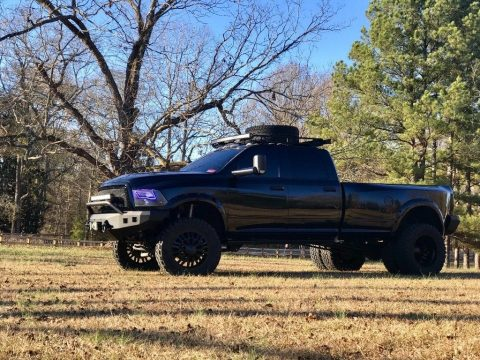 Lifted 2012 Dodge Ram 3500 dually diesel for sale