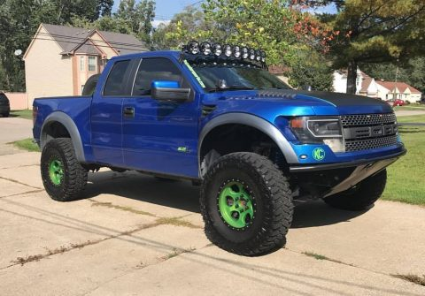 NICE 2012 Ford F 150 SVT Raptor for sale
