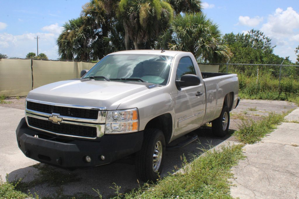 reliable 2007 Chevrolet Silverado 2500 pickup