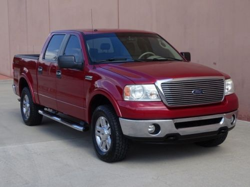 well equipped 2007 Ford F 150 Lariat 4×4 pickup
