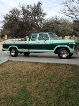 1977 Ford F-150 Super Cab Ranger Trailer Special for sale