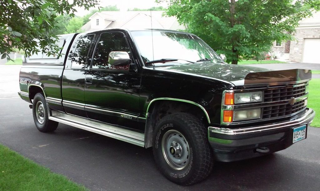 1990 Chevrolet Silverado 1500 Chrome rear bumper