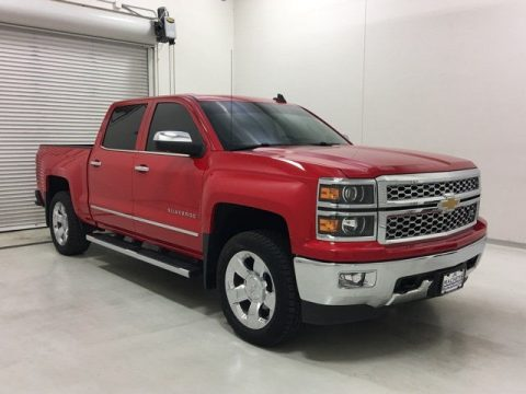 2015 Chevrolet Silverado 1500 LTZ Red Truck for sale