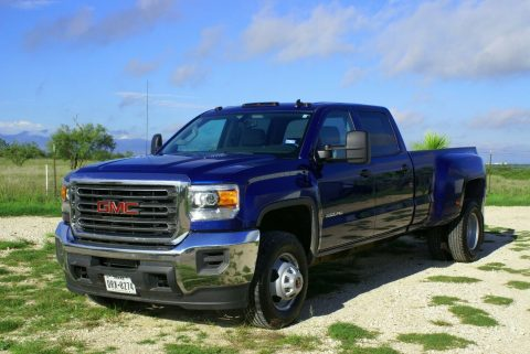 low mileage 2015 GMC Sierra 3500 pickup for sale