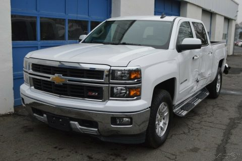 needs repair 2015 Chevrolet Silverado 1500 2LT pickup for sale