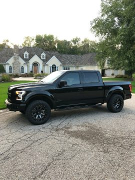 loaded 2015 Ford F 150 XLT pickup for sale