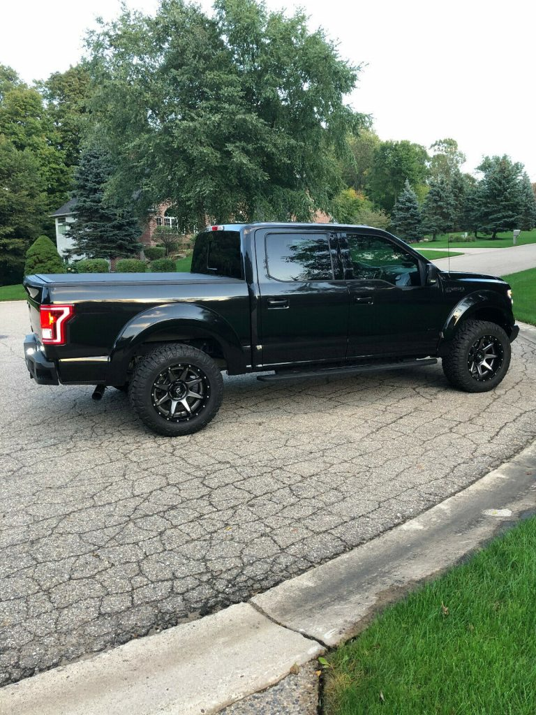 loaded 2015 Ford F 150 XLT pickup