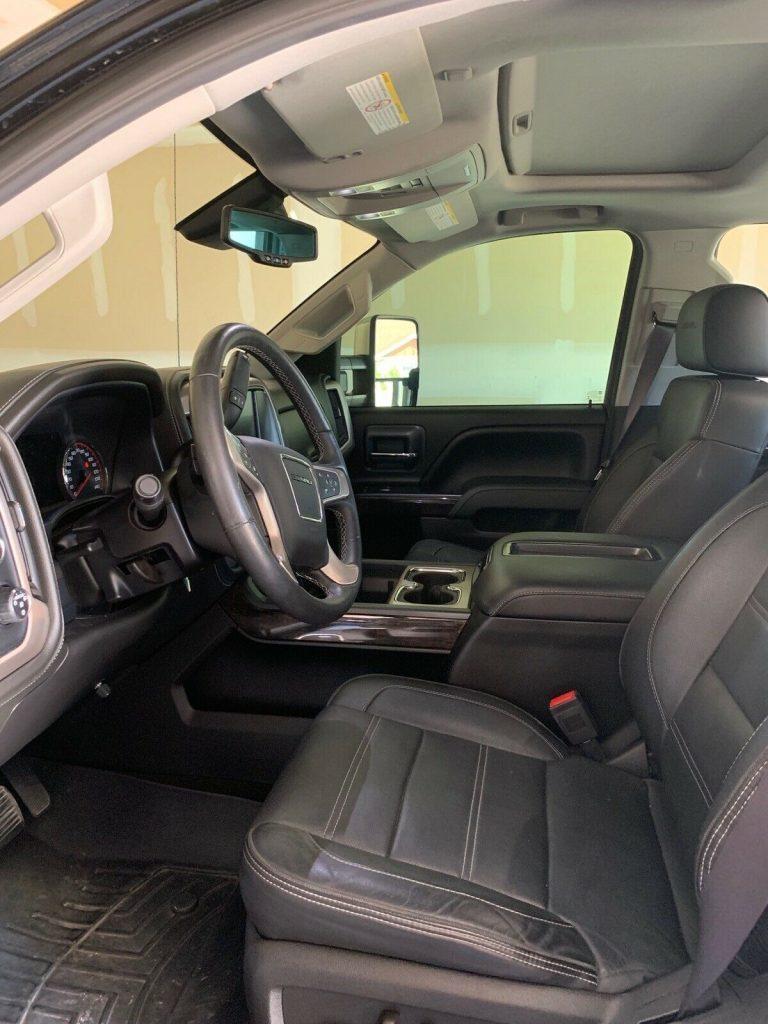low miles  2015 GMC Sierra 2500 Denali pickup