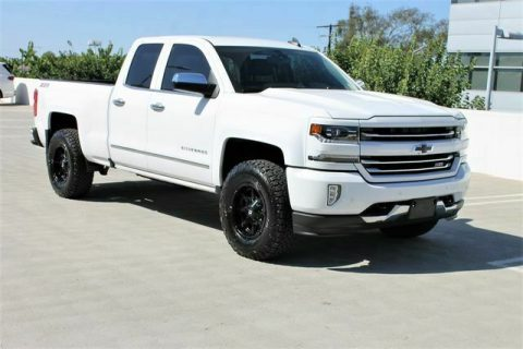 low miles 2016 Chevrolet Z71 LTZ pickup for sale